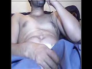 pakistani guy farhan jerking on webcam